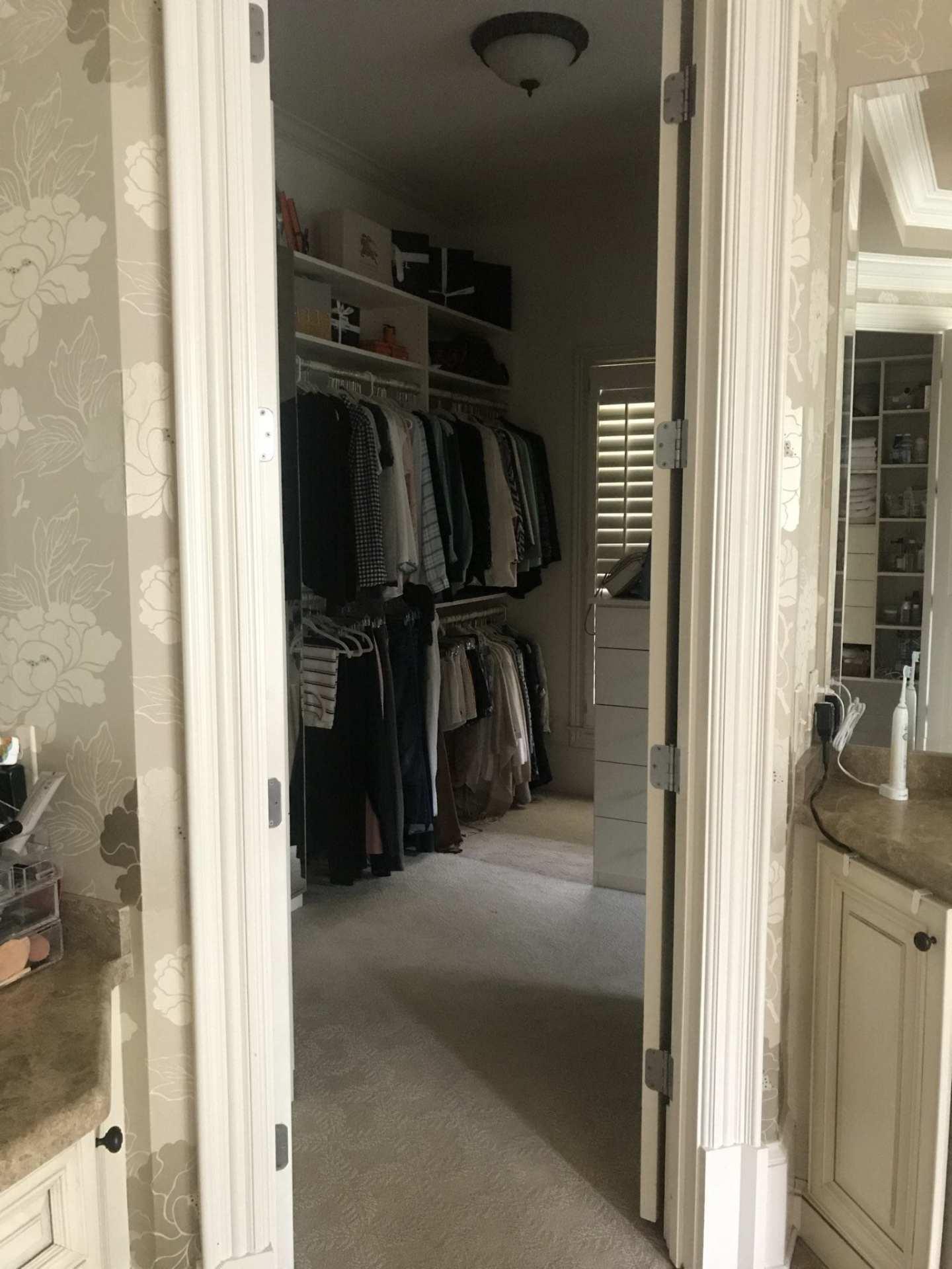 how to organize closets. California Closets near me for organizing tips and custom closets.