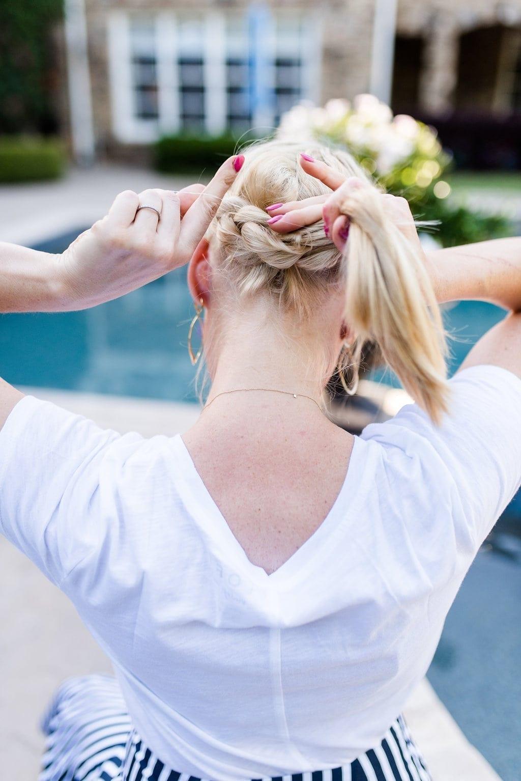 Tips to braid long hair.