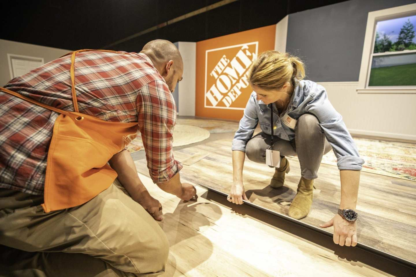 How to put floors in yourself. Tips from The Home Depot for flooring.
