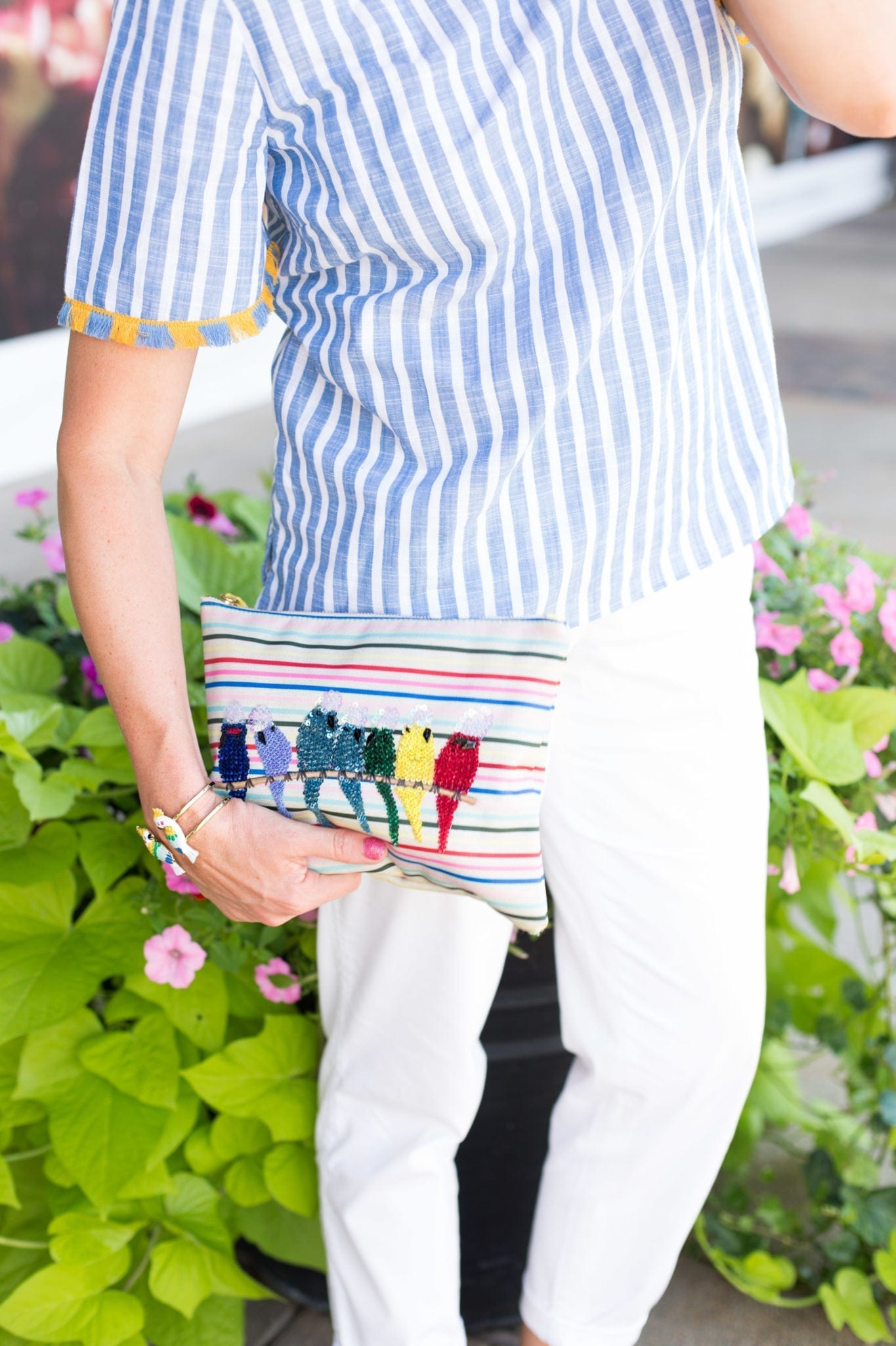 Talbots Parrot Clutch. Great clutch for Jimmy Buffet fans! A Parrothead must have!