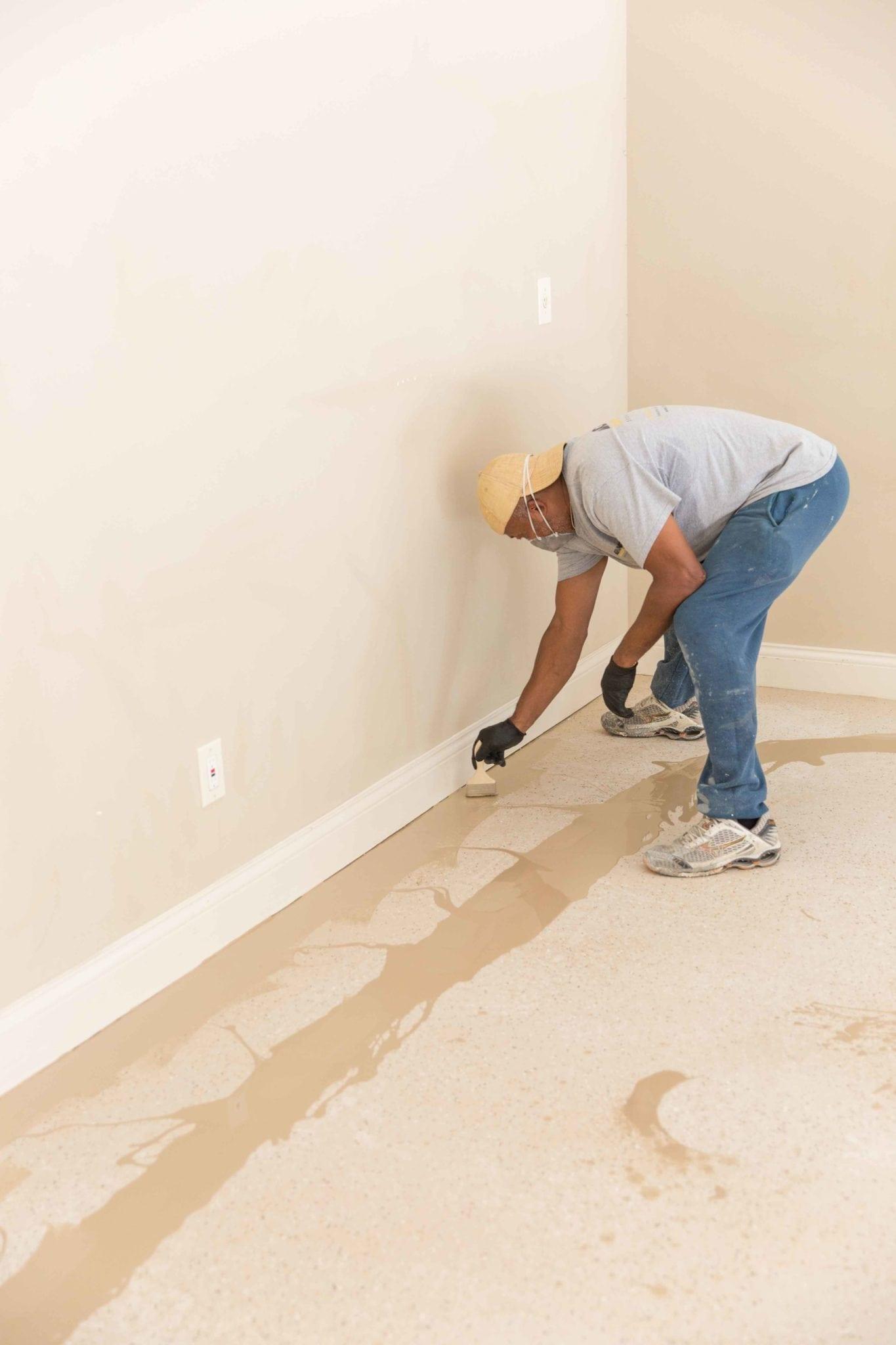 Garage floor paint and expoxy.