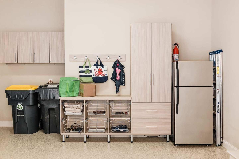 Garage Cabinets for smart storage.