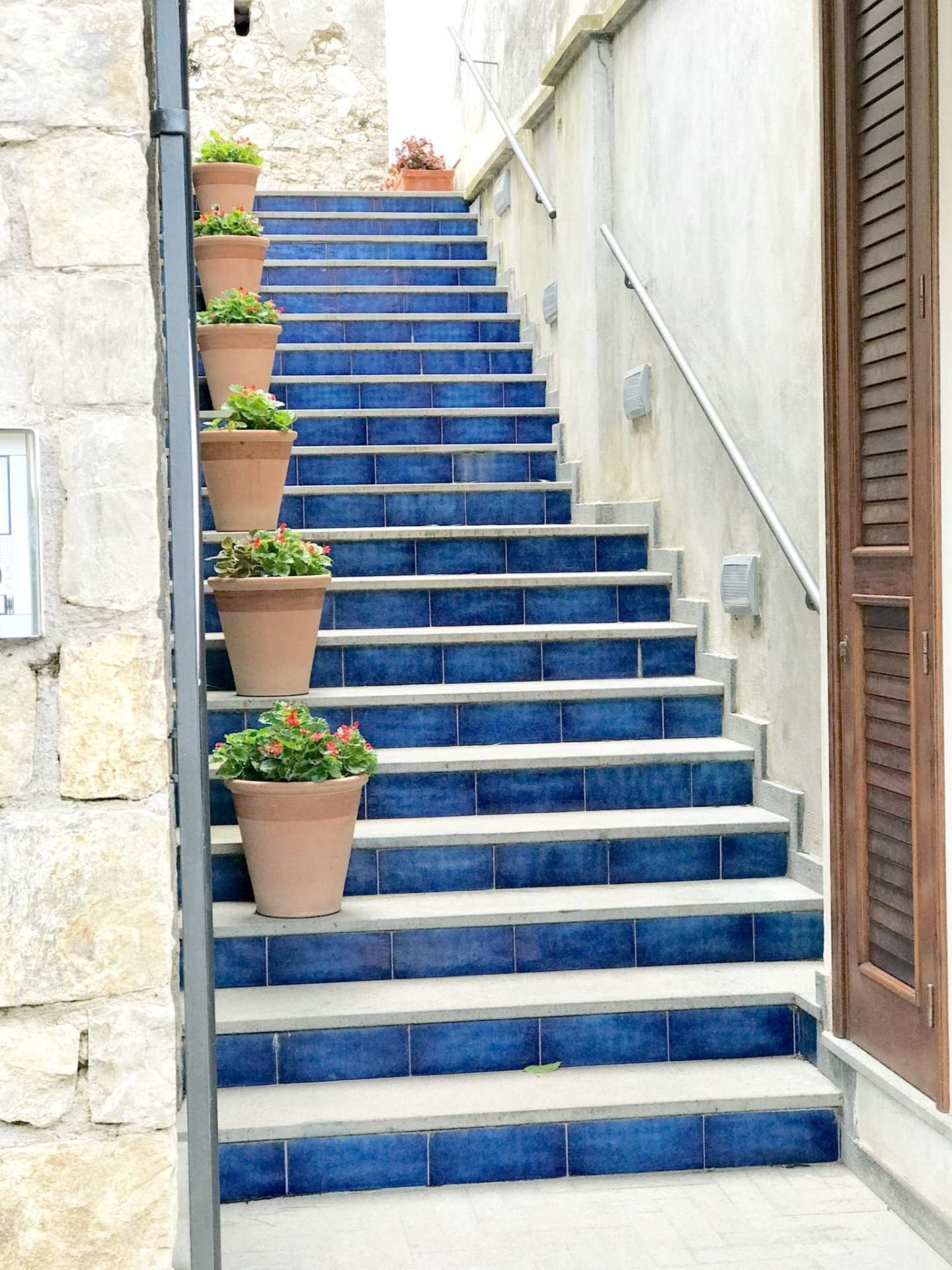 Ravello staircase and review of Ravello, Italy.