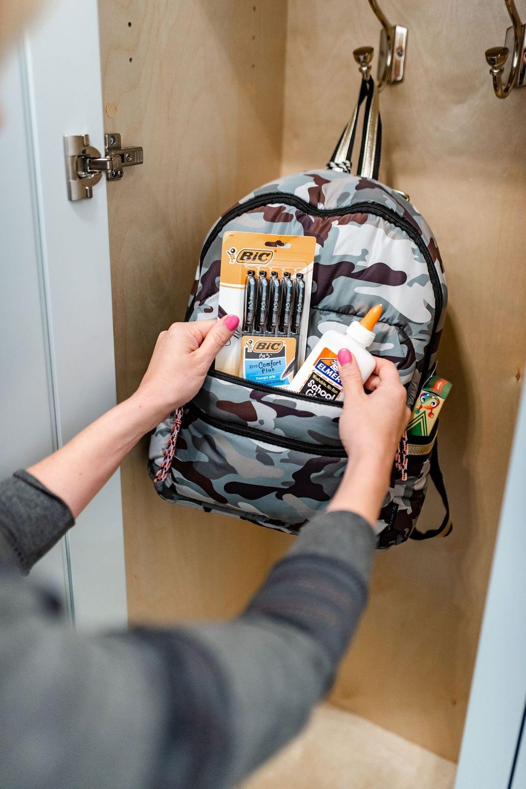 Camo Backback for Girls. Back to School Camo backpack from Walmart.