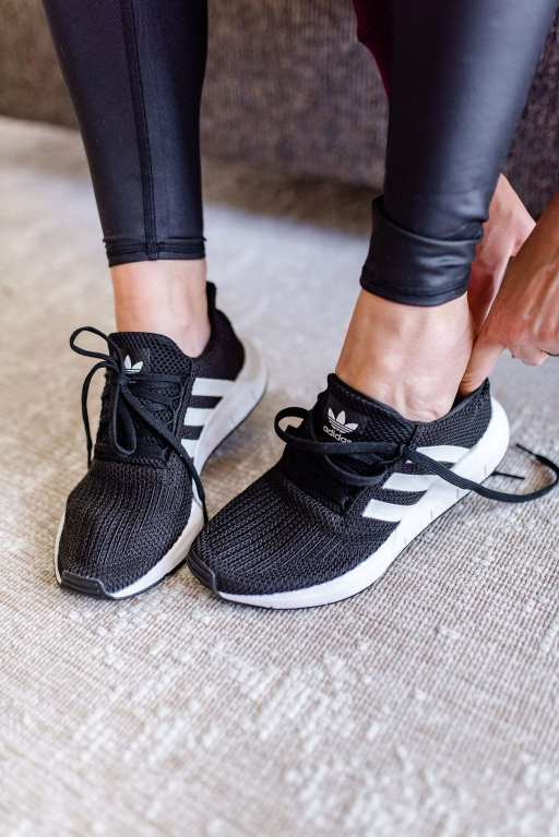 Adidas swift run sneaker womens.