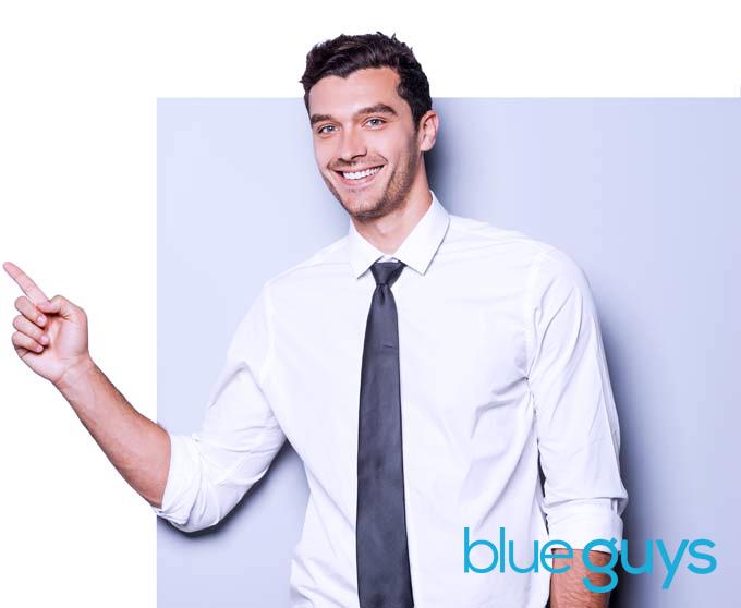 Blue Guys Website Design