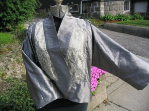 Gutry silver jacket