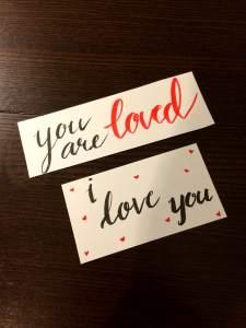love calligraphy