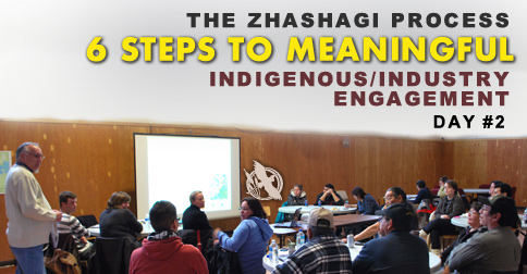 The Zhashagi Process - 6 Steps to Meaningful Indigenous/Industry Engagement - Day 2
