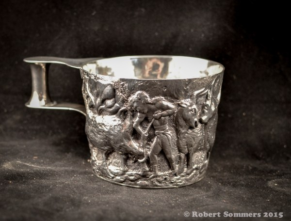 Arts and Crafts period silver Blue Heron Gallery