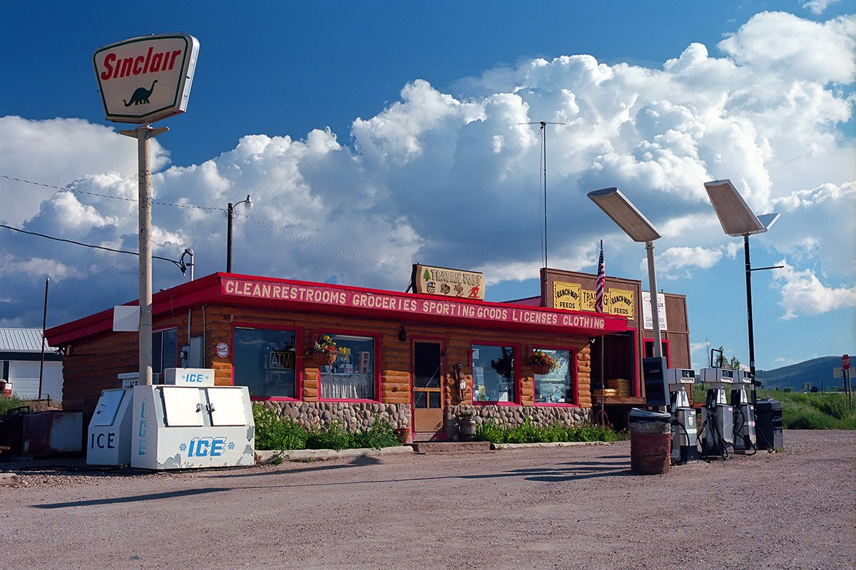 Trading post, Riverside, Wyoming