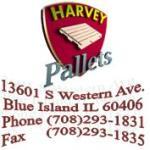 Harvey Pallets logo