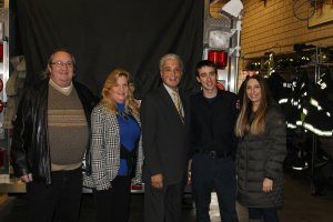 FF Whitlock's Parents, Mayor Vargas, FF Whitlock and his sister