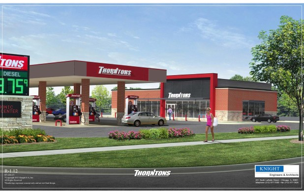 Thorntons Building Rendering