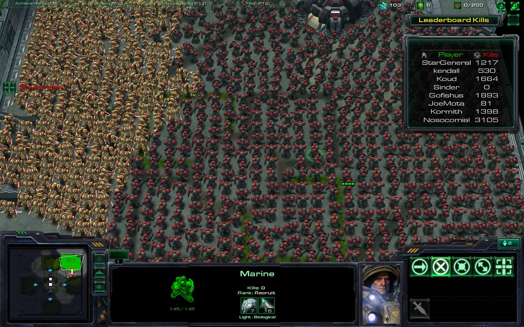 starcraft 2  terran strategy and custom games
