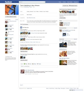 Facebook Trip Sharing