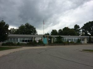 My elementary school, Couchiching Heights, Orillia
