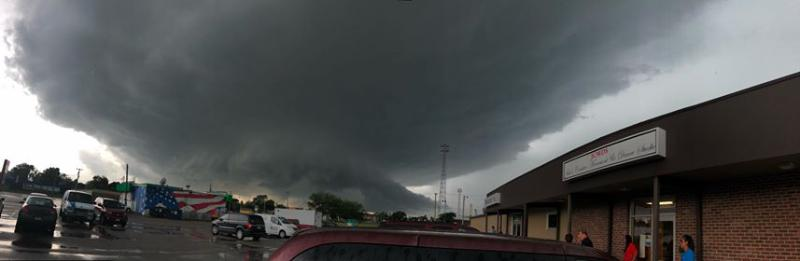 Recent Tornados And Hail Near Omaha And Louisville