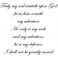 Download Truly my soul waiteth upon God: from him cometh my ...