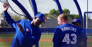 Fred McGriff and Chris Hawkins