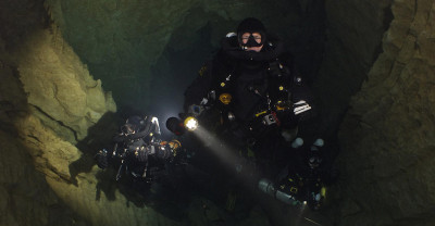 CCR Cave France Divers Courses