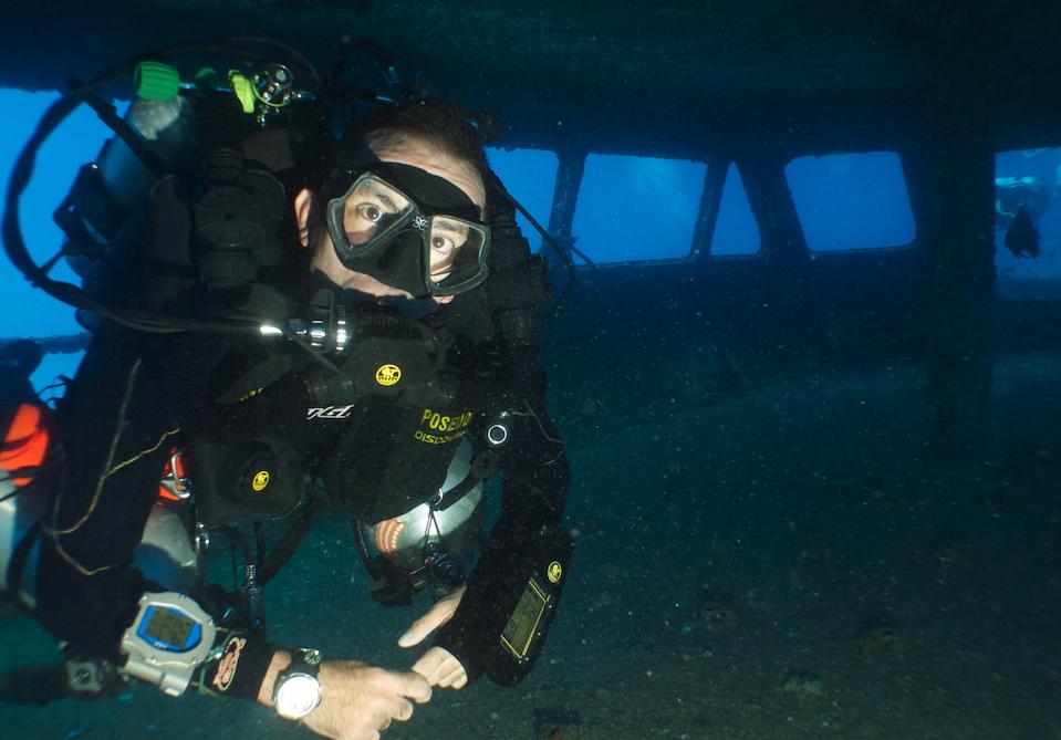 recreational rebreather courses - poseidon