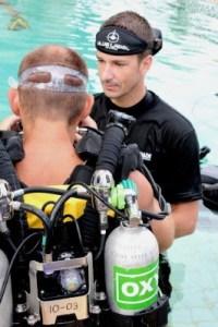 Poseidon CCR MK6 Intro dive with Ben Reymenants