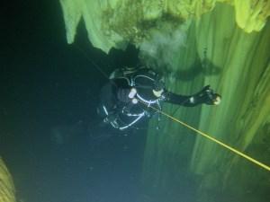 Cave underwater Khao Sok Lake