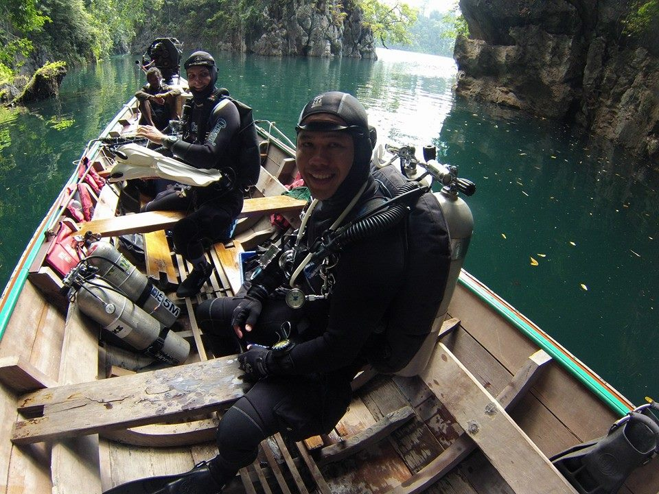 Cave Diving Thailand Khao Sok