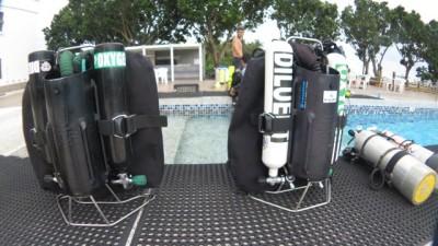 JJ CCR diving Taiwan