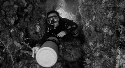Diving on Sidemount