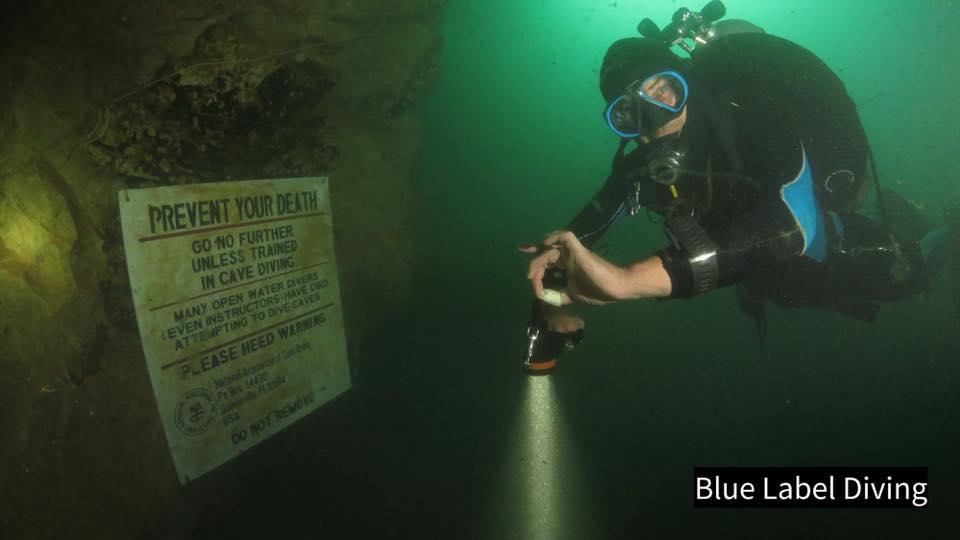 TDI Cavern course details