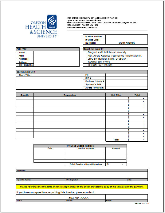 Product Invoice Template 08