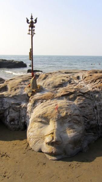Shiva Head - Vagator Beach