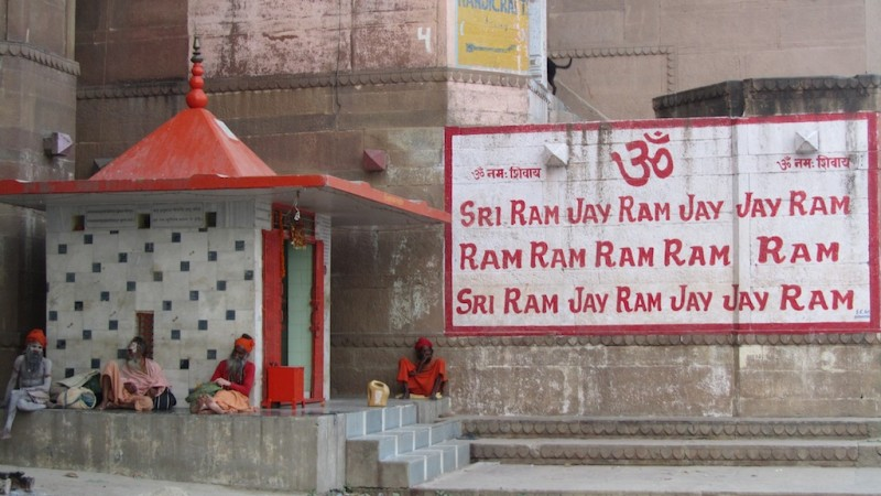 Babas On The Ghats