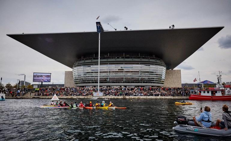 5 przystanek na światowej arenie zawodów Red Bull Cliff Diving w Kopenhadze