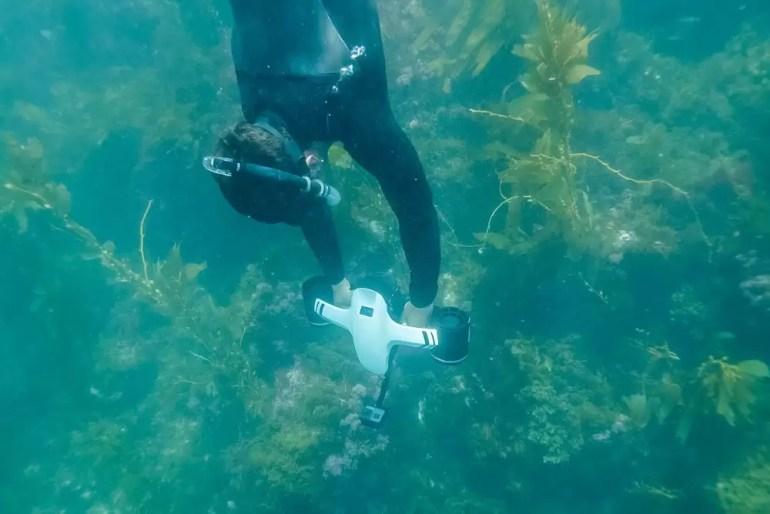 seaflyer podwodny skuter rekreacyjny
