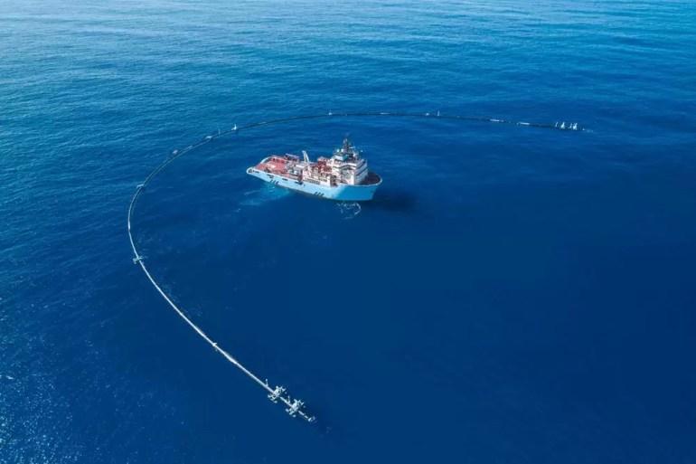 Ocean cleanup Wilson oczyszczanie oceanów ze smieci 2