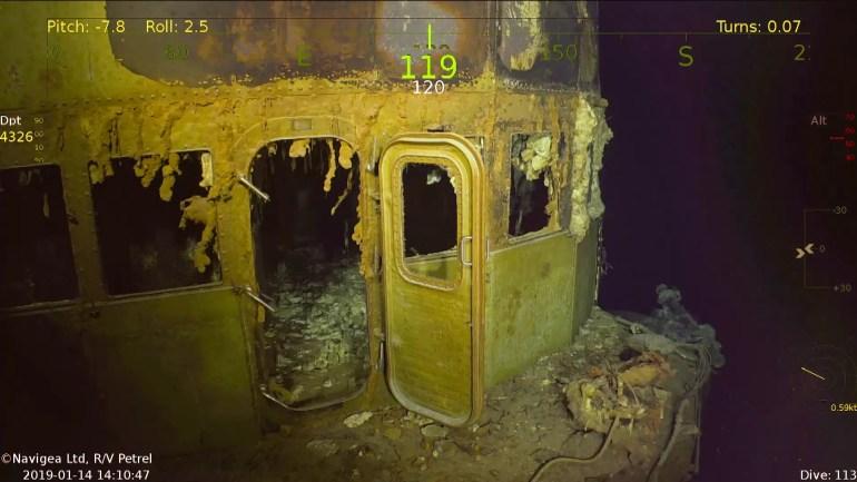 Wrak Lotniskowca SS Wasp - najnowsze odkrycie statku badawczego R V Petrel