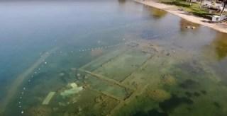 Wody jeziora Iznik skrywają ruiny 1600-letniej bazyliki