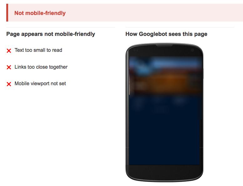 bld google non mobile friendly image