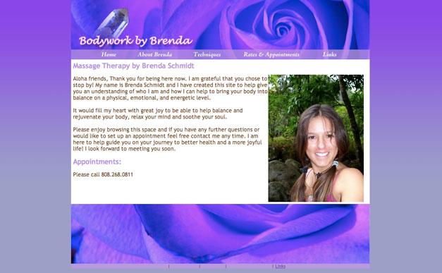 Static HTML Website Design