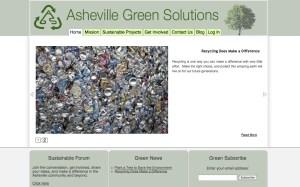 Asheville Custom Wordpress Theme