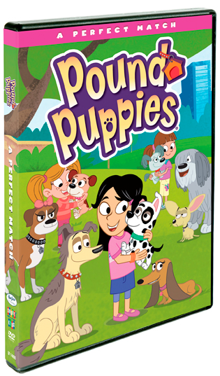 Pound Puppies: A Perfect Match on DVD
