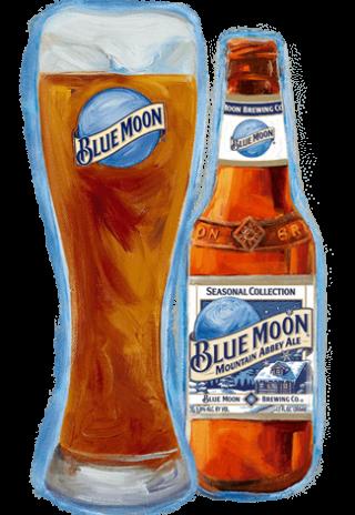Mountain Abbey Ale Blue Moon