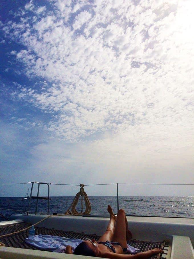 Sailing In Mallorca   Blue Mountain Belle