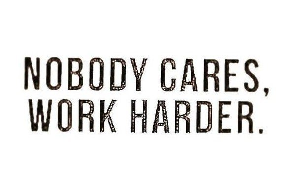 Nobody Cares, Work Harder Chris Rock