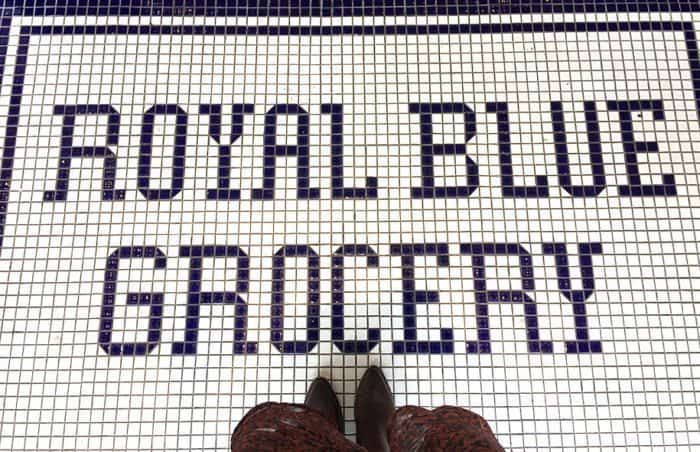 Royal Blue Grocery in Highland Park Village | Blue Mountain Belle