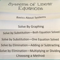 flip notes for teaching linear systems
