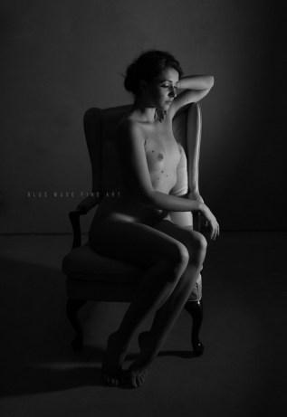 Blue Muse Fine Art with Dane Halo - Sweet Dreams - 2014